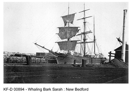 Whaling Bark Sarah - New Bedford