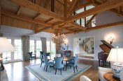 Lancaster County Timber Frames ~ Hybrid Timber Frame Home