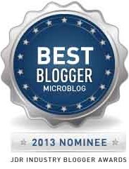 nominated by the JDR team for the 2013 Best Microblog Award, Twitter