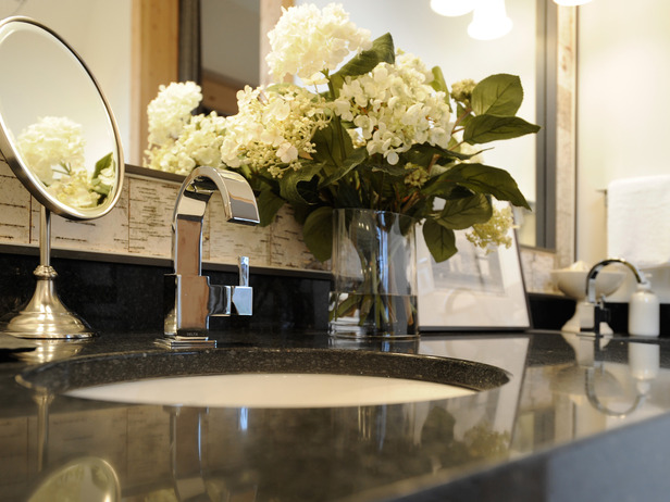 Indulge Their Vanity Guest Bathroom